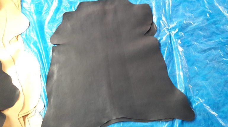 Chrome Tanned Goat Crust Leather