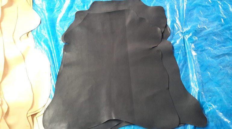 Chrome Goat Crust Leather